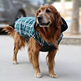 Generic Wasserdichten Reversiblen Hund Jacke Mantel Winter Warme Kleidung - Grün , XS -