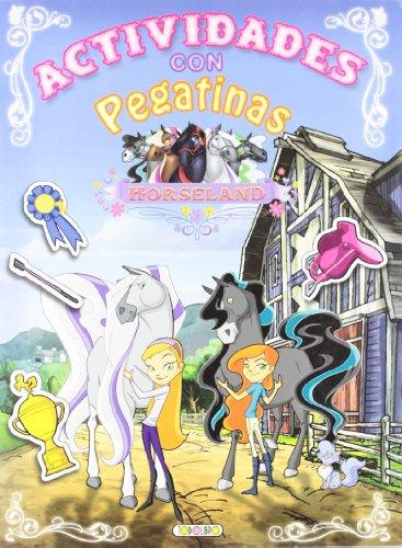 Horseland actividades con pegatinas (4 Títulos) Cover Image