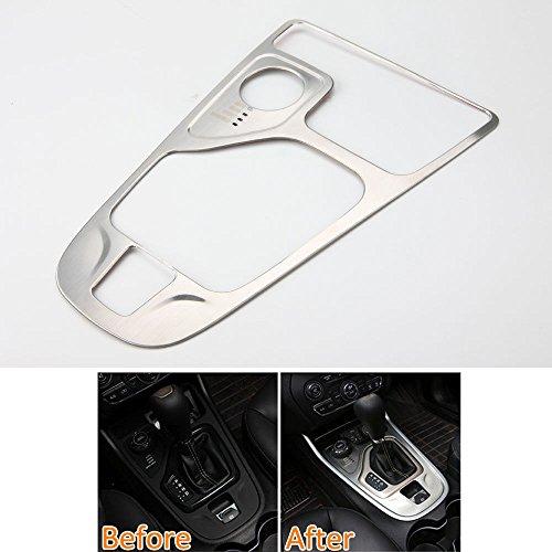 Odster F¨¹r Jeep Cherokee Innenkonsole Schaltknauf Panel-Abdeckung Trim Car Styling-Aufkleber-Innendekor-Rahmen 2014-16 Autozubeh?r