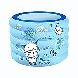 WXFC Aufblasbares Schwimmbecken Aufblasbares Schwimmbecken Planschbecken Babybecken Schwimmbecken Baby Aufblasbares Schwimmbecken
