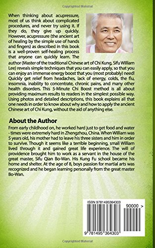 5-Minute Chi Boost - Five Pressure Points for Reviving Life Energy and Healing F: Volume 1 (Chi Powers for Modern Age)