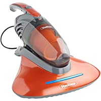 VonHaus Handheld Corded Vacuum Cleaner with UV Light | Anti-Allergenic Cleaner Kills 99.9 Percent of Bacteria and Dust Mites | 550W | Ideal for Upholstery, Mattresses, Pillows, Curtains, Sofas, Carpets and More | 2 in 1 Design includes Upholstery and Crevice Tool