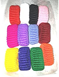 MBS Multicolor Hair Bands For Women & Girls Set Of 12