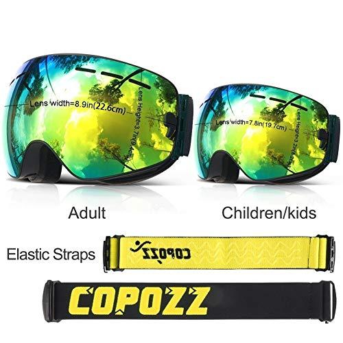 NO BRAND Gafas esquí Padres Niños Gafas esquí Paquete