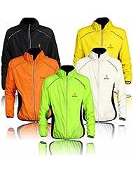 Radfahr-/Lauf-Jacke; Sportbekleidung; zum Laufen geeignet; langärmelig; schützt vor Wind und Regen; schnelltrocknend; winddicht; für Frühling / Herbst geeignet; zum Fahrradfahren; in 5Farben erhältlich
