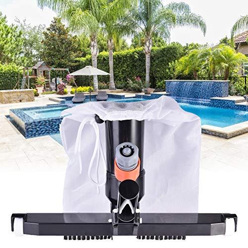 Luerme Reinigungszubehör Pool Saugspitze Staubsauger Reinigung Wartung Werkzeug Saugtank Manuelle Maschine Saugkopf für Schwimmbäder