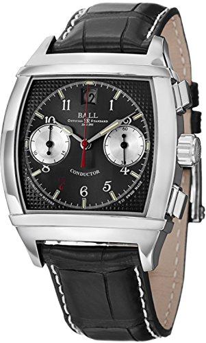 Palla da uomo cm2068d-lj-bk conduttore analogico display svizzero orologio automatico nero