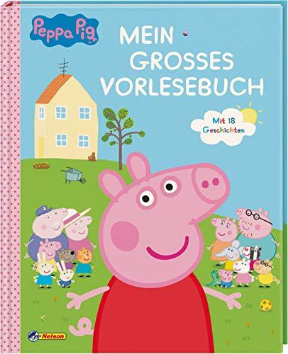 Peppa: Mein großes Vorlesebuch: Zum Vor- und Selberlesen (Peppa Pig) (Pig Nacht)