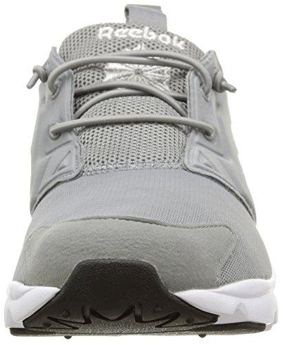 Reebok Furylite, Chaussures de Running Entrainement Homme multicolore (Flat Grey/White/Black)