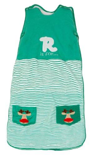 Dream Bag Baby-Ganzjahresschlafsack 2.5 Tog - Green Reindeer - 90 cm