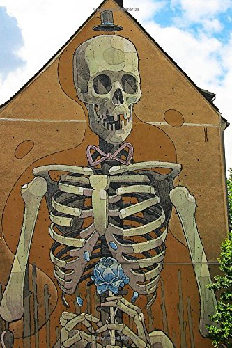 Skeleton Mural Journal: 150 Page Lined Notebook/Diary (Mural De Halloween)