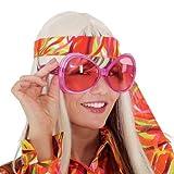 Brille Trendy mit Brillies, pink
