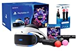 PlayStation VR 'Starter Plus Pack' + VR Worlds + Mandos Move Twin pack + Camara V2