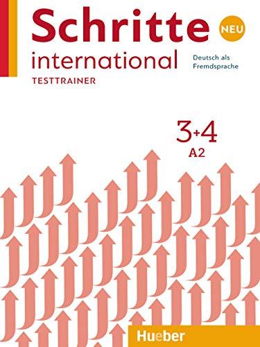 Schritte International. Deutsch als Fremdsprache. Per le Scuole superiori. Con CD Audio: Testtrainer: SCHRITTE INT.NEU 3+4 Testtrainer