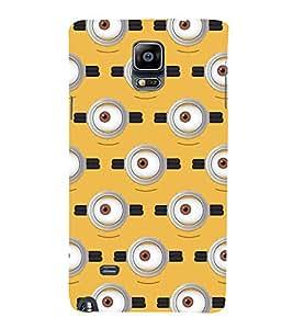 PrintVisa Unique Eye Pattern 3D Hard Polycarbonate Designer Back Case Cover for Samsung Galaxy Note 4 :: Samsung Galaxy Note 4 N910G :: Samsung Galaxy Note 4 N910F N910K/N910L/N910S N910C N910FD N910FQ N910H N910G N910U N910W8