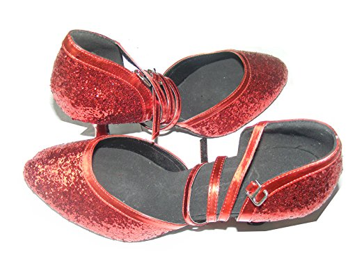 Pobofashion , Ballerines pour femme Rouge Rouge Rouge - Rouge
