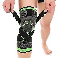 Lixada Kniestütze, Kniebandage Support Single Wrap mit verstellbaren Kompressionsriemen Knie Support Braces Ärmel... preisvergleich bei billige-tabletten.eu
