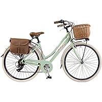 Via Veneto by Canellini Bici Vélo Citybike Byciclette CTB Femme Dame Vintage Retro Via Veneto Aluminium
