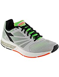 Diadora Men's Kuruka Gray/Green Athletic Shoe