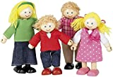 Tidlo T-0126 Wooden House Family Doll