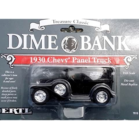 Agway Dime Bank 1930 Chevy Panel Truck 1:43 #2 1992 Ertl by Agway - Dime Bank