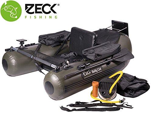 Zeck Belly Cat 170cm - Bellyboot zum Vertikalangeln & Spinnfischen auf Waller, Bellyboat, Belly Boot Angelboot zum Raubfischangeln