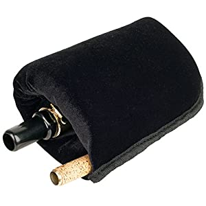 Protec A208 Baritone Saxophone Nylon Neck and Mouthpiece Pouch - Black