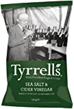 Tyrells Salt and Cider Vinegar Chips 150 g (Pack of 12)