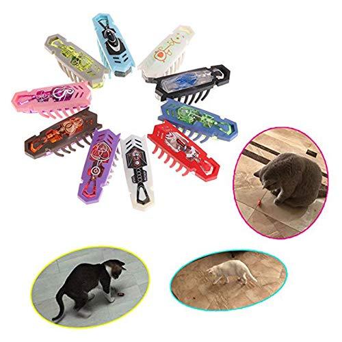 10Pcs elektronischen Haustier, Lernspielzeug Roboter-Insekt forInteractive ToysWorm Kämpfen Insekten Reptilien