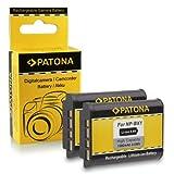 2X Batterie NP-BX1 pour Sony CyberShot DSC-HX50 / HX50V   DSC-HX300   DSC-RX1 / DSC-RX1R   DSC-RX100 / DSC-RX100 II   DSC-WX300   HDR-AS15   HDR-GW66   HDR-GWP88