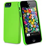 vau CandyShell Case - loud green - Hülle, Tasche für Apple iPhone 5S & iPhone SE