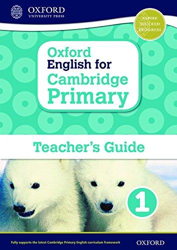 Oxford English for Cambridge Primary Teacher book 1 (International Primary)