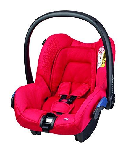 Bébé Confort Citi - Silla de coche, grupo 0+, color rojo (origami red)