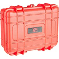 XSories Black Box Petite Malette Ultra résistante pour GoPro/Appareil photo/Caméra embarquée/Accessoires Rouge