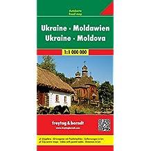 Ukraine Moldavie : 1/1 000 000