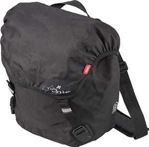 ABUS Wasserdichte Gepäckträgertasche Dryve ST 8510 KF M, schwarz, 32 x 41 x 17 cm (je Tasche), 51584-2