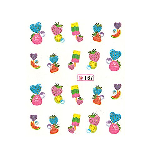 Water decal - fruits 167