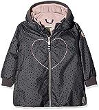 Racoon Mädchen Jacke Bitten Heart Winterjacke (Wassersäule 9.000), Mehrfarbig (Blackened Pearl Bla), 104