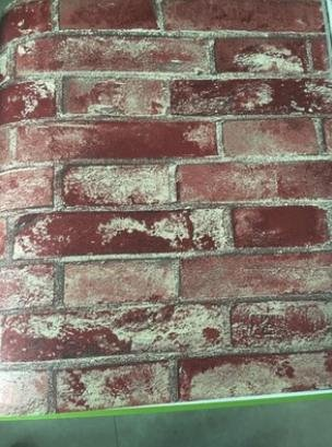 BBSLT Non-tessuto modello brick wallpaper, retro negozio di abbigliamento coffee shop Internet Café ingresso sfondo , 1 , 53*950cm
