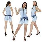 Enterizo Push Up Vaquero Mujer Estilo Colombiano Súper Fix Skinny Wonder Súper Push Up Slim Skinny Enterizo Jeans Vaquero 100% Levanta Glúteos- Push Up Wonder/ Push Up