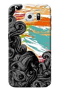 Samsung Galaxy S6 Back Cover KanvasCases Premium Designer 3D Printed Lightweight Hard Case