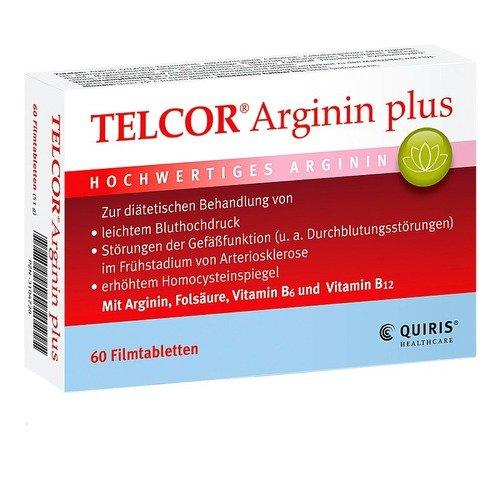 Telcor Arginin plus Filmt 60 stk