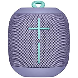 Ultimate Ears WONDERBOOM - Altavoz Bluetooth impermeable con conexión, Lila