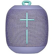 UE Wonderboom Bluetooth Lautsprecher (stoßfest Wasserdicht, Verbindung von zwei Geräten möglich) lila