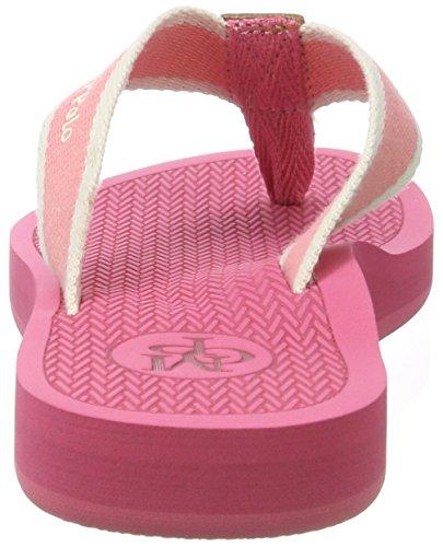 Marc O'Polo Damen 70314031001611 Beach Sandal Rot (rose)