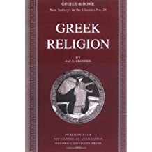 Greek Religion (New Surveys in the Classics No. 24) by Jan N. Bremmer (2006-04-10)