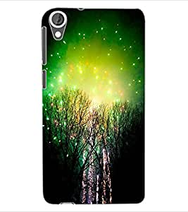 ColourCraft Amazing Night View Design Back Case Cover for HTC DESIRE 820