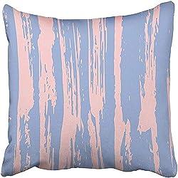 CHSUNHEY Fodera per Cuscino Decorativo Tie Dye Pettern Japanese Batik Indonesian Organic Shibori Swimwear Old China Rapport Pillowcase Case 18x18 inch,Eco-Friendly Print
