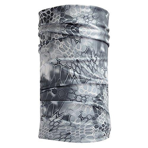 Ksweet Tour de cou écharpes Bandanas bandeaux Balaclava écharpes Tour De Cou polaire Bonnets Sports (Multicolore-A03, Taille unique)