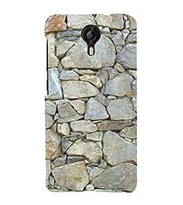 EPICCASE Mountain rocks wall Mobile Back Case Cover For Micromax Canvas Nitro 4G E455 (Designer Case)